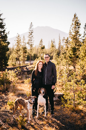 Katie + Mike - Sparks Lake, Oregon
