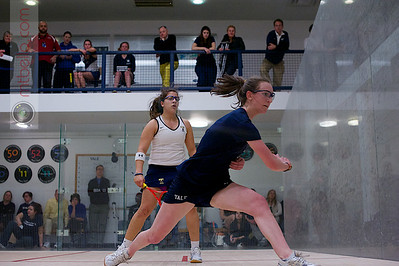 2013-02-15 Millie Tomlinson (Yale) and Kanzy El Defrawy (Trinity)