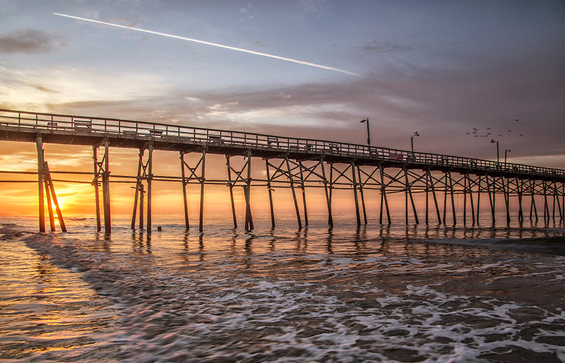 002_Yaupon Pier Sunrise_web