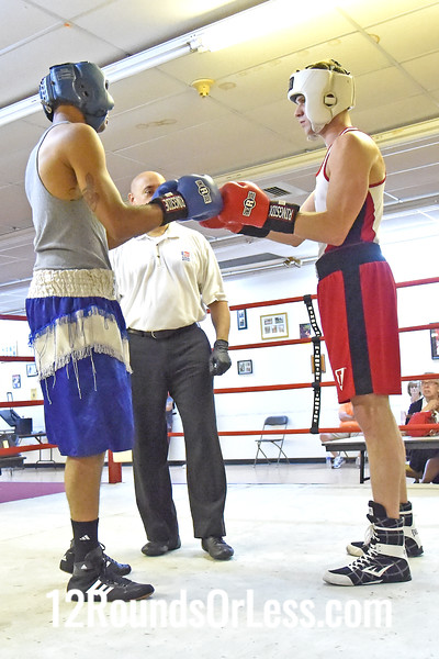 Bout 6 = Main Event, Ronnie Pratt, Blue Gloves, Zelma George/Empire BC -vs- Matt Brown, Red Gloves, Unattached, 178 Lbs