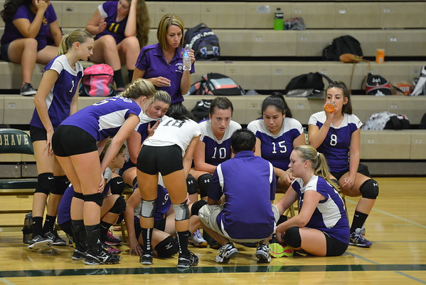 JV VOLLEYBALL vs MOHAVE 9-1-2015