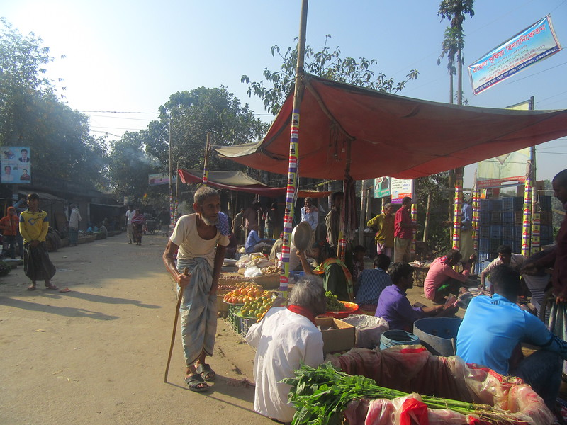 014_Dhaka. Roadside Fruits and Vegetables Market.JPG
