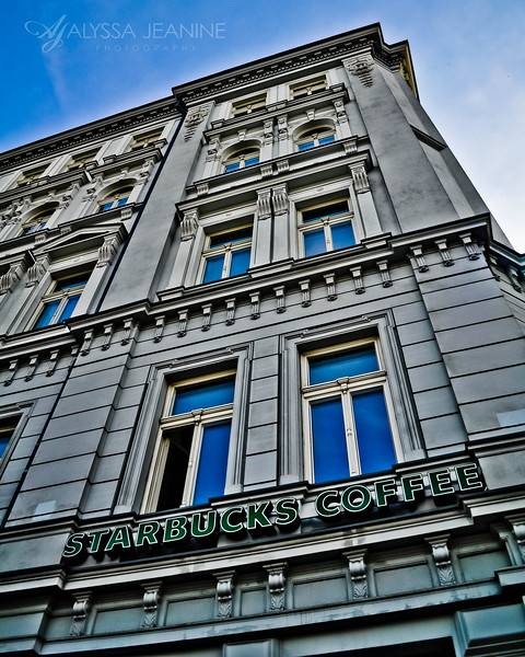 Starbucks in Warsaw, Poland