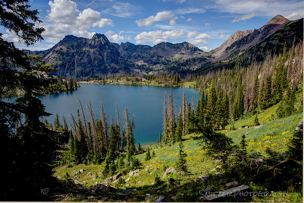 Gilpin Lake, Mt Zirkel Wilderness, Co.