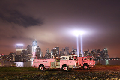 Gemma & Daria 9-11-11 in Jersey City  Tribute of Light