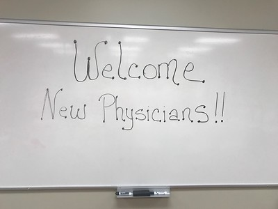 New Physician Welcome - Hot Springs (Oct. 2017)