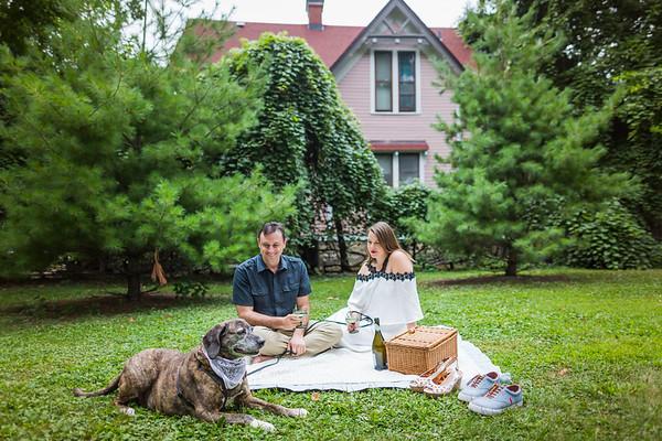 Oak Park Engagement Session | Hadley + Brad