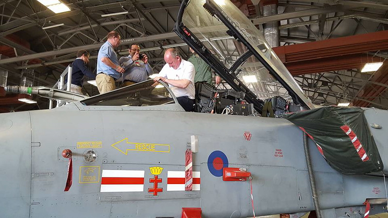 RAF Coningsby Base tour : Thursday 12th May 2016