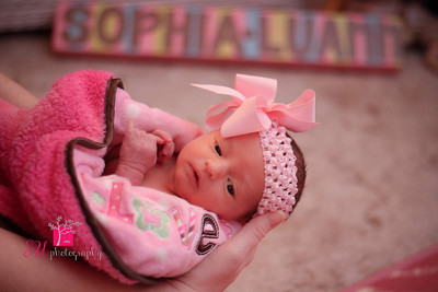 Sophia's Newborn Session 2013
