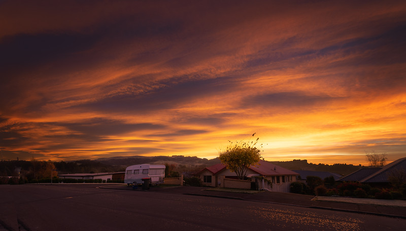 a couple of amazing sunrise's over our home in the last few days.        Photo By Steven Sharp (www.stevensharp.photos)