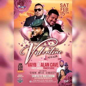 HKP PRESENTS THE 2nd ANNUAL VALENTINE AFFAIR