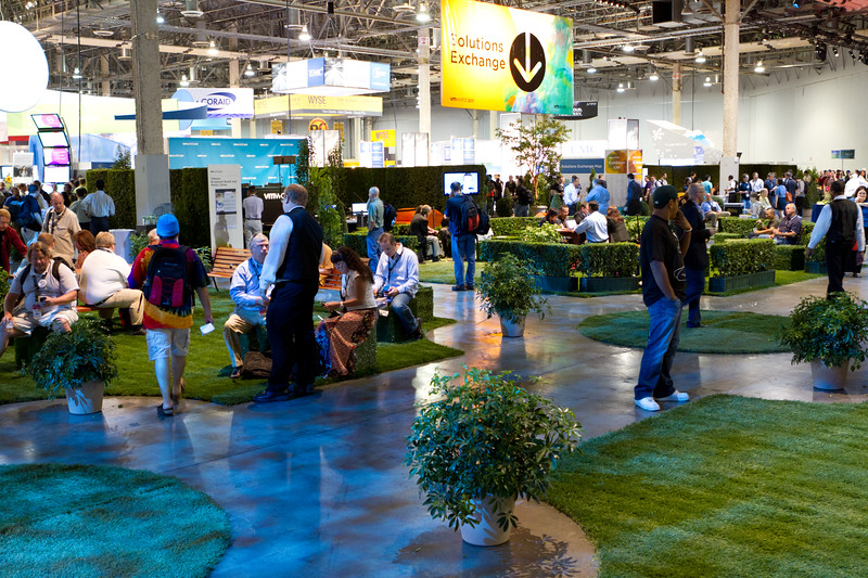 The recreation area at the solutions exchange