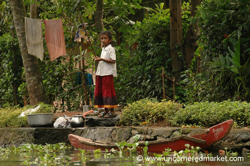 Backwater Girl: Alleppey, India