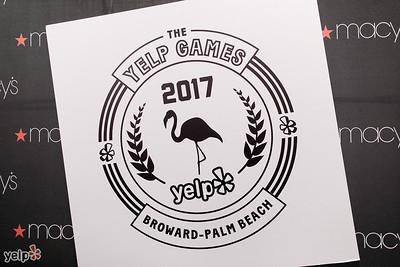 Yelp Games at Macy's Jan 2017