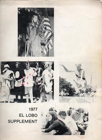 1977 El Lobo Supplement