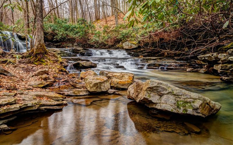 Along Johnaton Run Trail, Ohiopyle State PArk PA