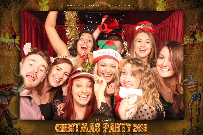 Rightmove Christmas Party 2018