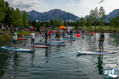 2019 Grizzly KCPO Paddle Board Race Start