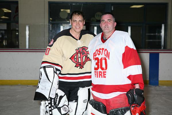 Chicago FD vs Boston FD Hockey Game March 10, 2007