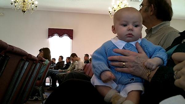 Theo's Christening