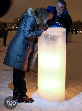 2011 City of Lakes Loppet - Luminary 2-5-11