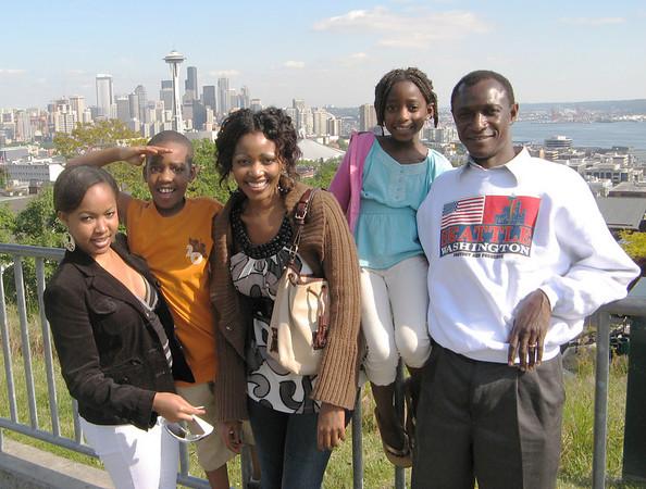 Visit from Selekwa Family - June 2008