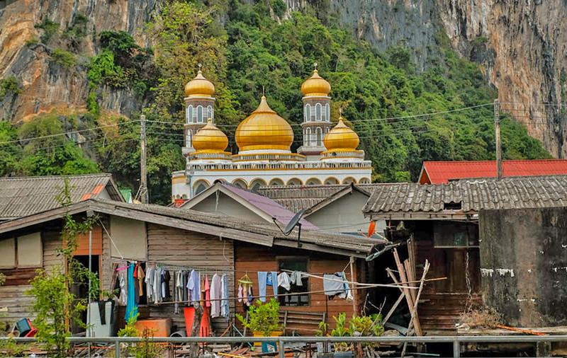 68  Koh Panyee, a Muslim fishing village in Phang Nga Bay, Phuket, Thailand copy