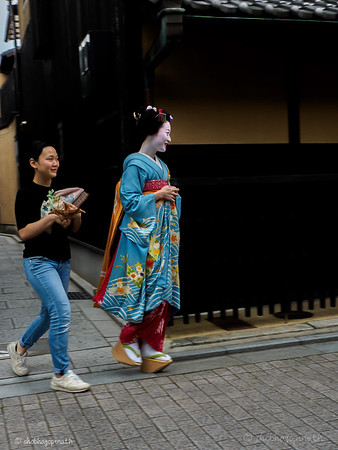 Geiko and assistant
