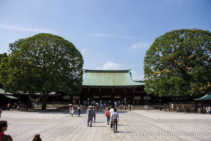 The main Meiji shrine