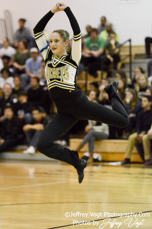 01-05-2013 Richard Montgomery HS Poms at Northwest HS Competition, Photos by Jeffrey Vogt Photography