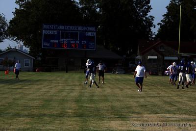 CHA Varsity Football Scrimmage - August 28, 2008