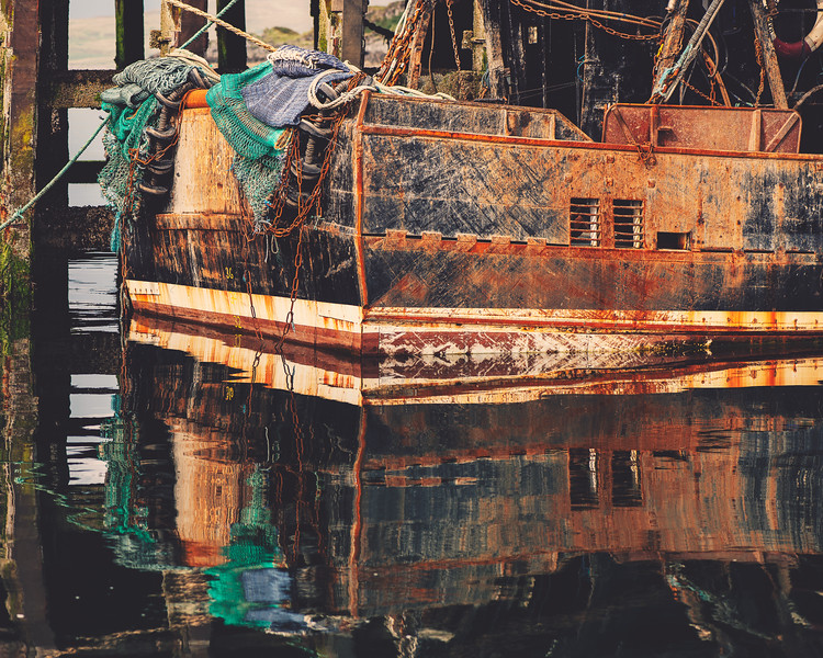Rusted in Mallaig
