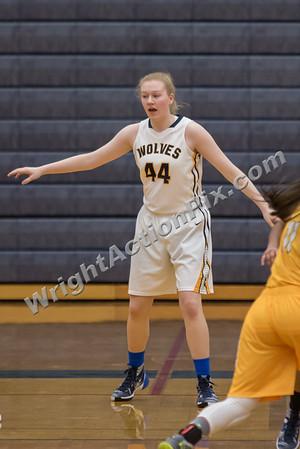 2016 01 07 Clarkston Varsity Girls Basketball vs Adams