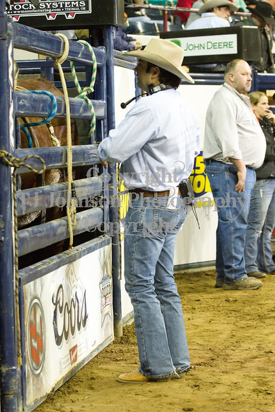 2013 National Western - Friday Bronc Riding