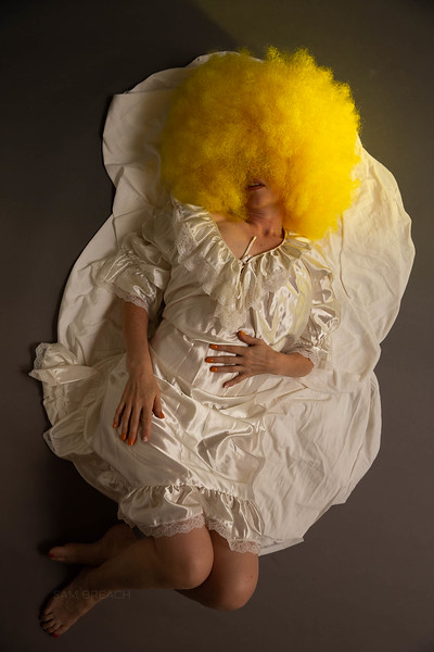 Portrait of Woman As Egg