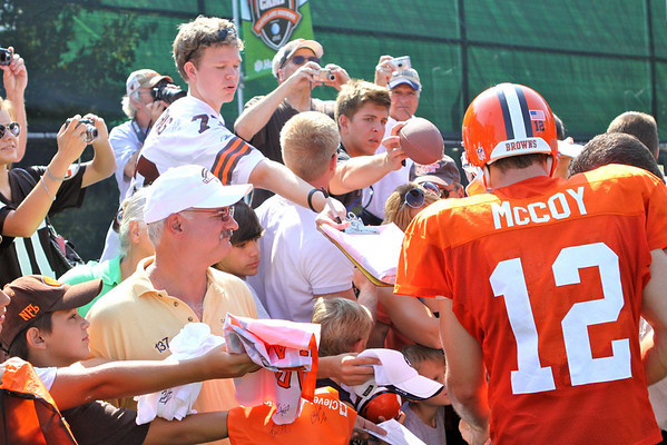 Cleveland Browns Training Camp 2010