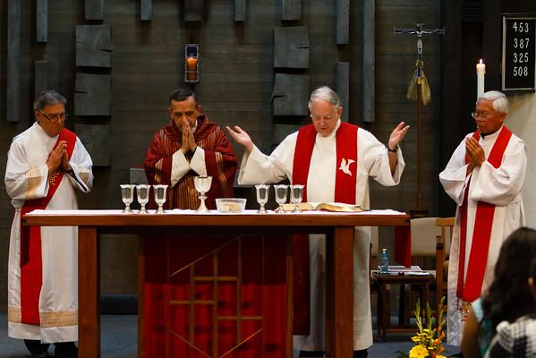 May 11, 2015 - Confirmation at Holy Trinity Parish by Bishop Eusebio Elizondo