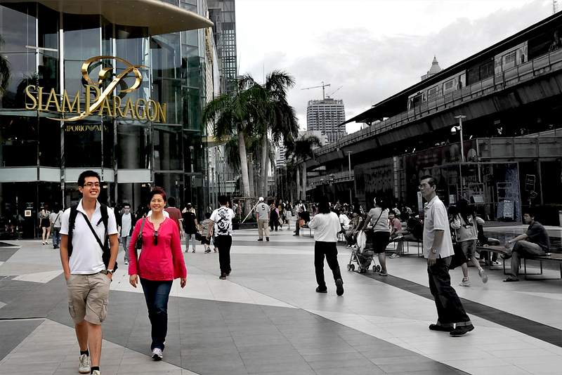 Strolling at Siam Paragon