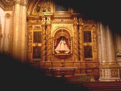 Santa Domingo Church in Oaxaca