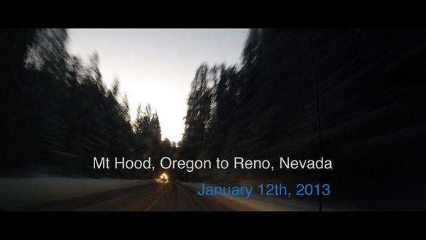 2013/01/10 - Mt Hood & Tahoe