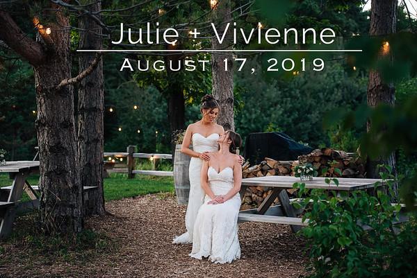 Vivienne + Julie