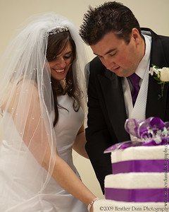 Katina-n-Vinny Cake Cutting, Tossing Boquet and Garter