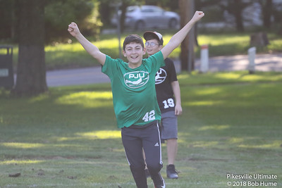 Pikesville Junior Ultimate May 23, 2018