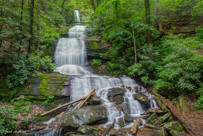 DeSoto Falls, Lumpkin Co. Ga.