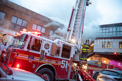 Bronx 3rd Alarm Box: 2892 1780 Westchester Ave. 28 Jan 21