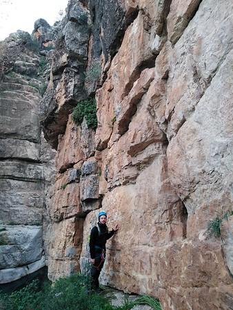 Climbing Raja de Alicun 26 December 2019