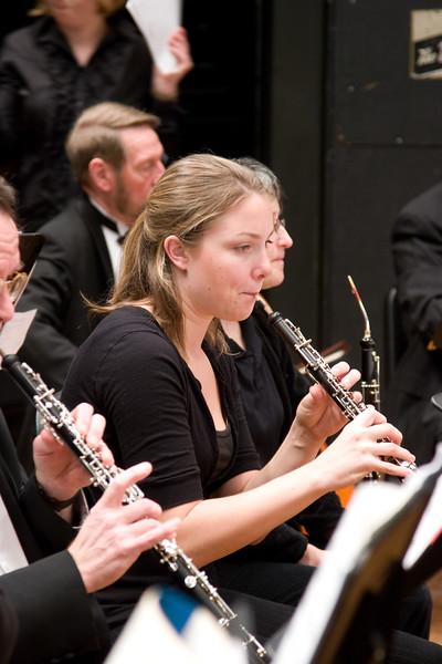 Carolyn Davies, oboe -- Hopkins Symphony Orchestra, March 2008