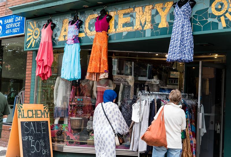 "Storefront Of ""Alchemy"""