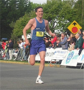 2003 Times-Colonist 10K - Gord Christie - 33:18 but only fifth in a stacked masters field