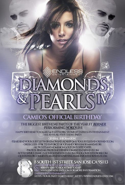9/24 [Diamonds & Pearls IV@Studio 8]